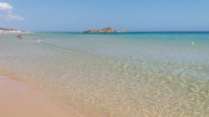 surfing spots in Sardinia