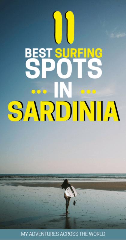 Discover the best surfing spots in Sardinia - via @clautavani