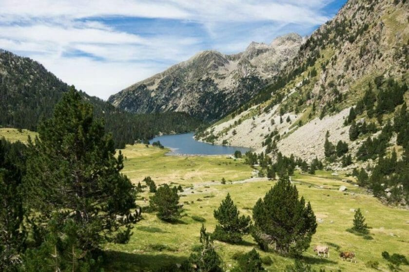 hiking the Pyrenees