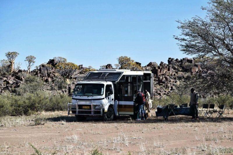 tour of Namibia