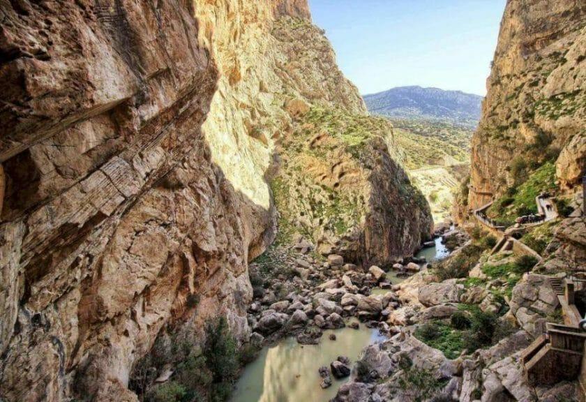 hiking in Malaga