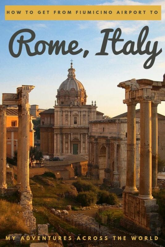 Find out how to get from Fiumicino Airport to Rome - via @clautavani