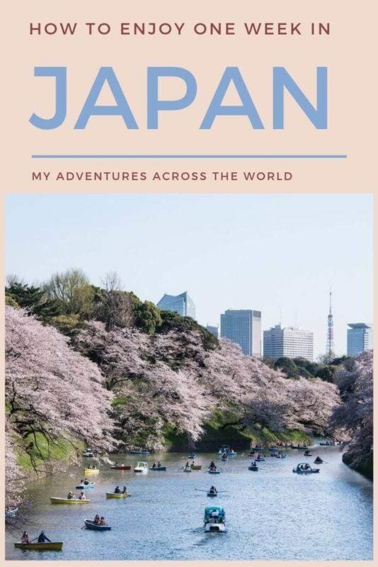 Find out how to make the most of one week in Japan - via @clautavani