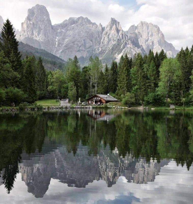 Welsperg Lake Trentino