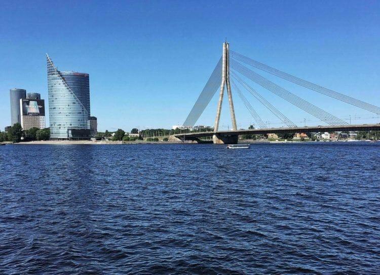 Vanšu Bridge Riga