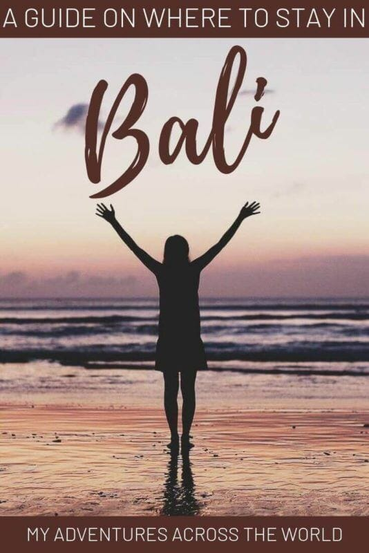 Discover the best places to stay in Bali - via @clautavani