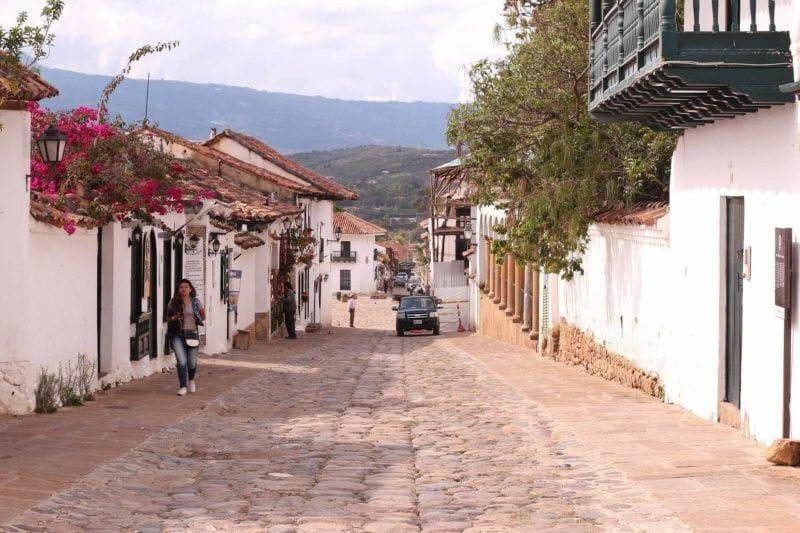 Villa de Leyva street