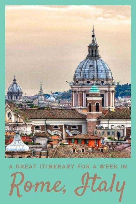 Discover what to see and do in a week in Rome - via @clautavani