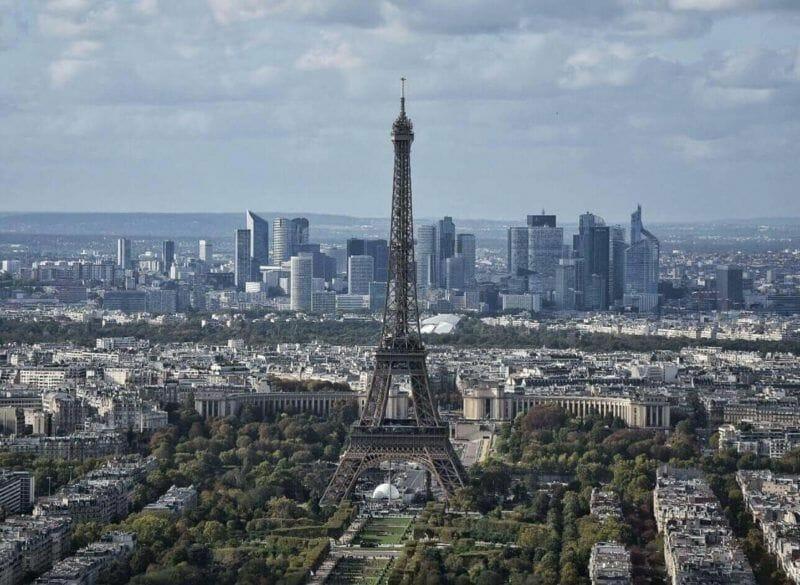 View from Montparnasse, Paris