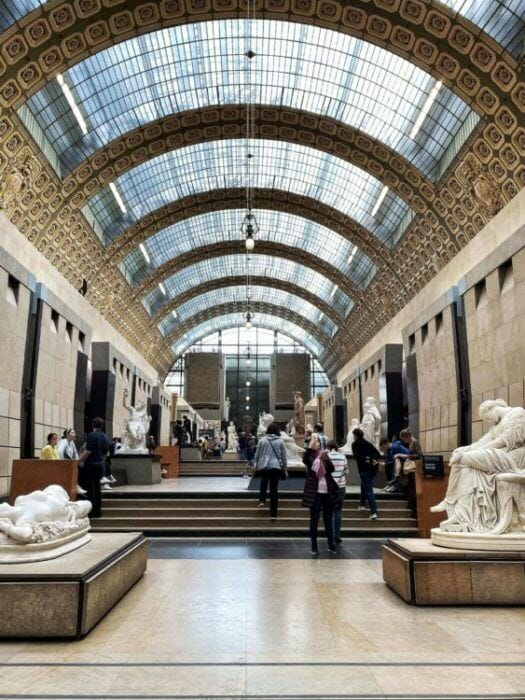 Musee d'Orsay tickets central hall
