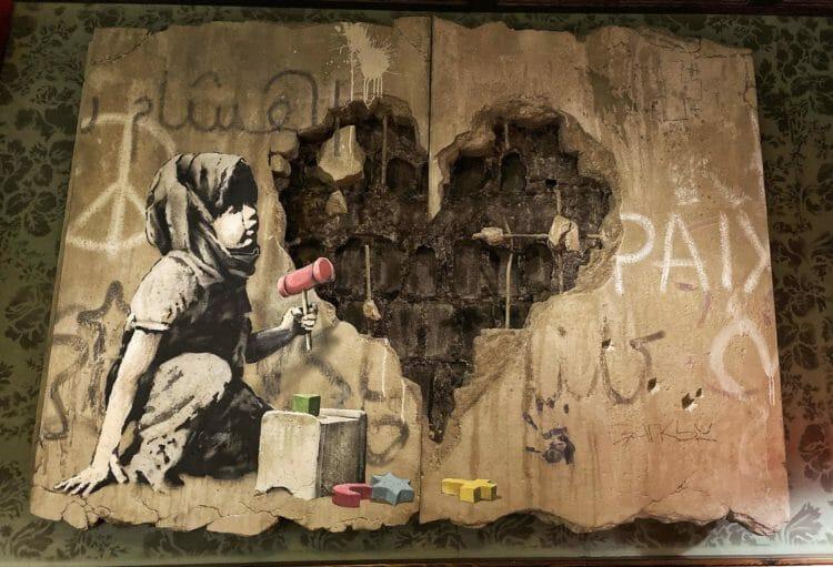 Walled Off Hotel visit Palestine