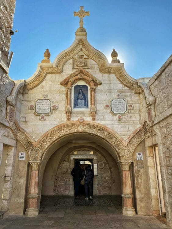The Chapel of the Milk Grotto