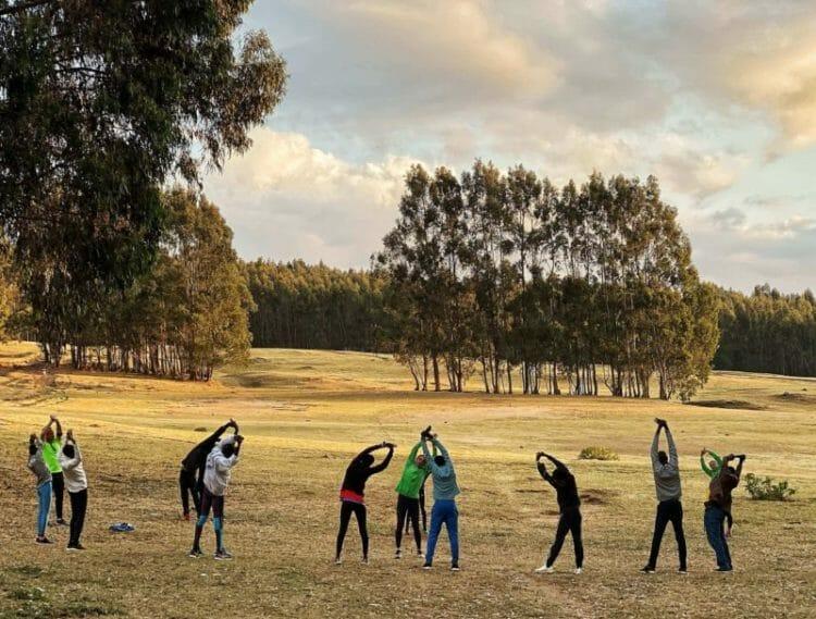 Training for the Great Ethiopian Run