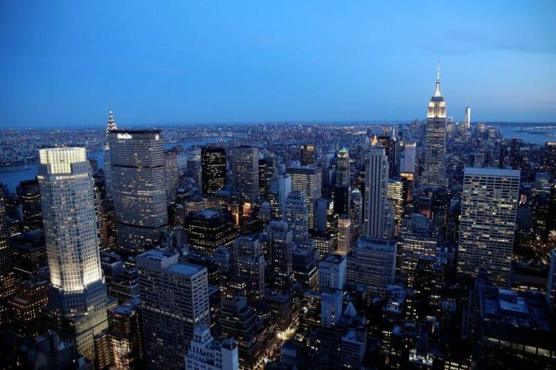 night in new york