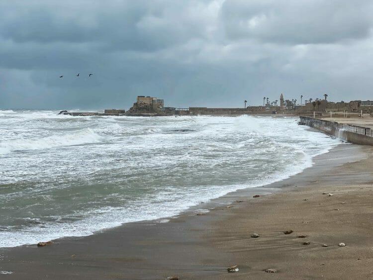 Caesarea archeological site
