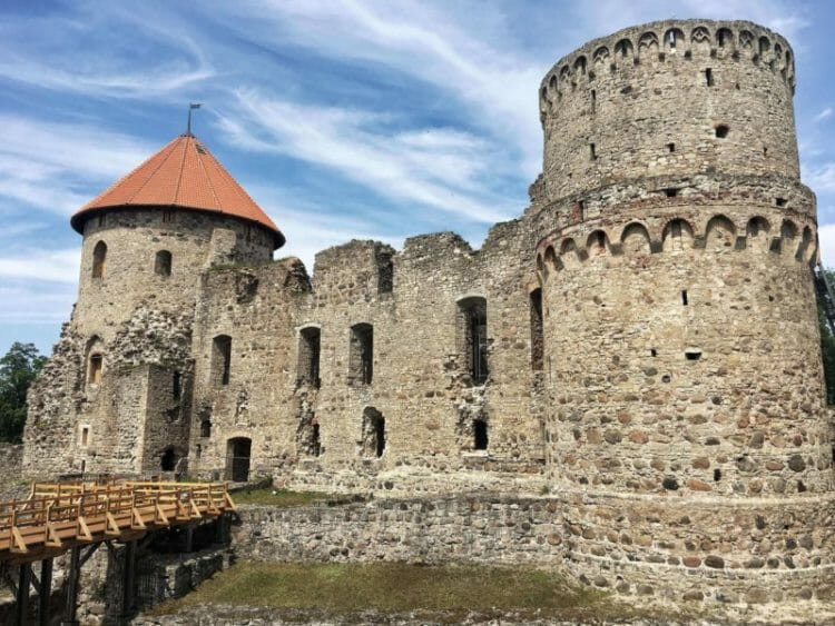 Cesis Castle day trips from Riga