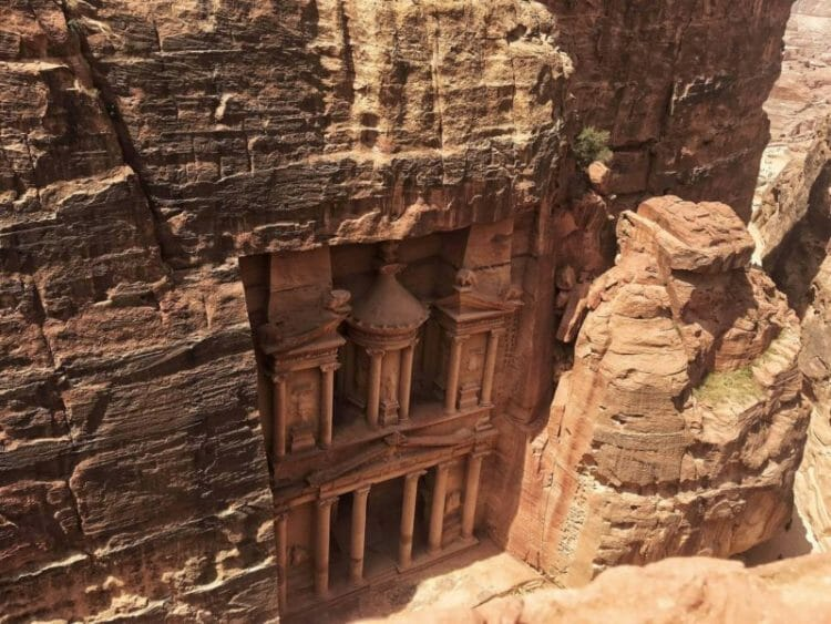 Petra day trips from Tel Aviv