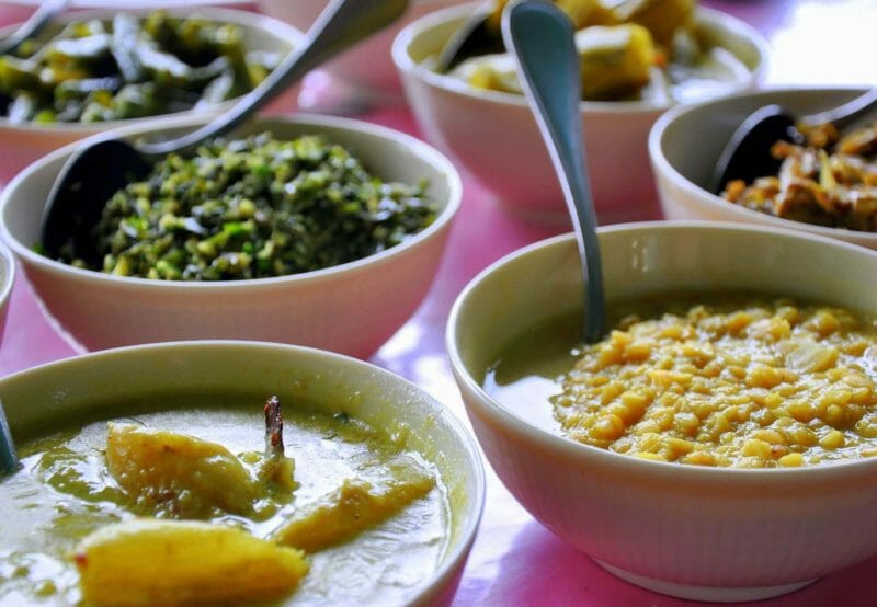 Dhal and other curries
