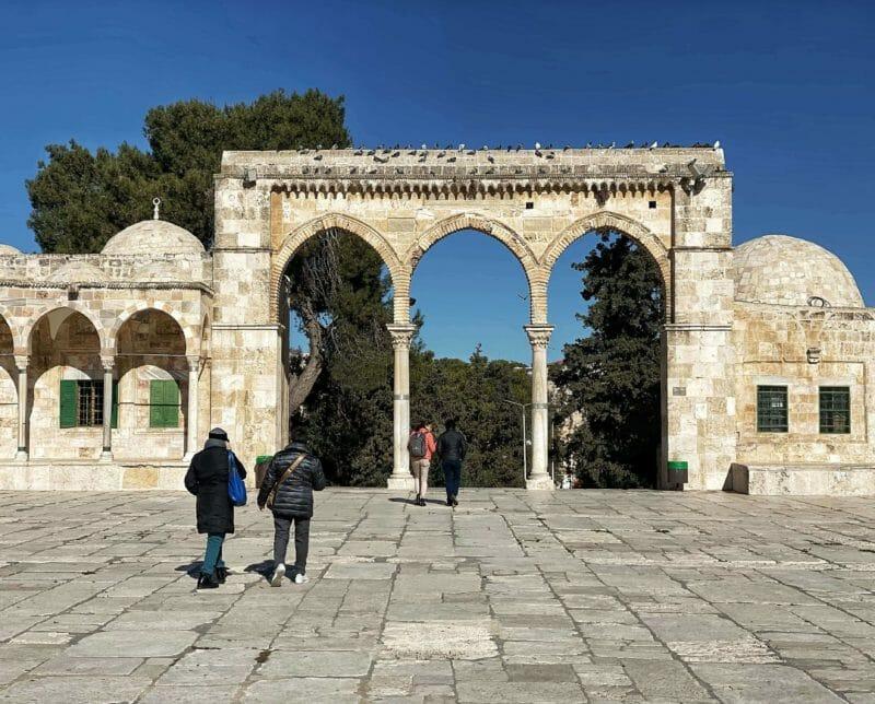 Temple Mount inside
