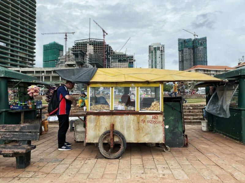 street food in Colombo