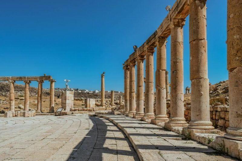 Jerash day trip from Amman