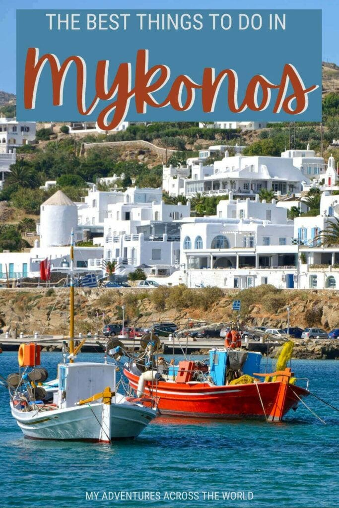 Learn about the best things to do in Mykonos