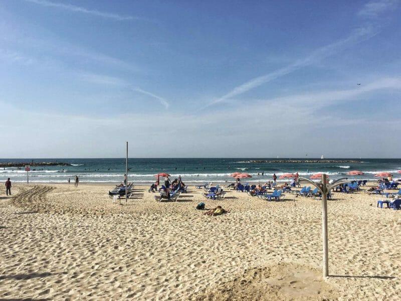 best beaches in Tel Aviv