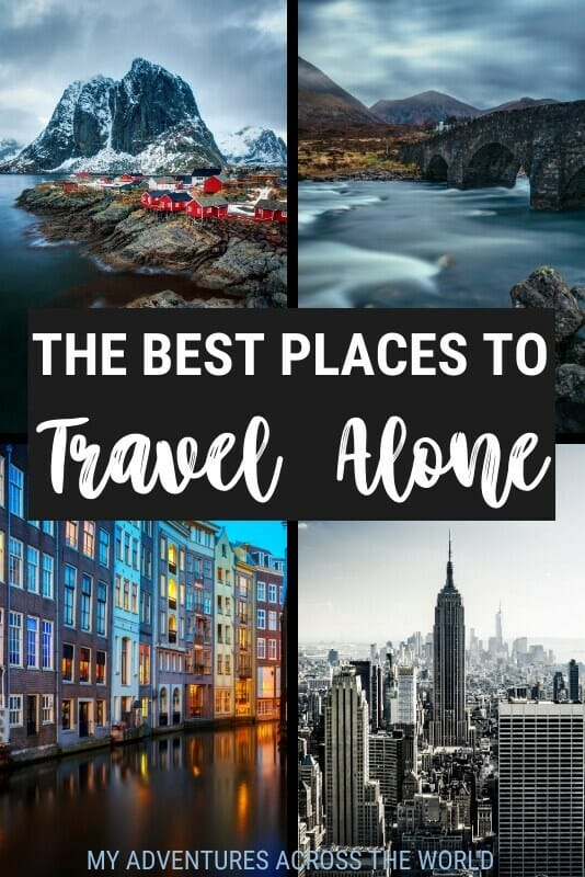 Discover the best places to travel alone - via @clautavani