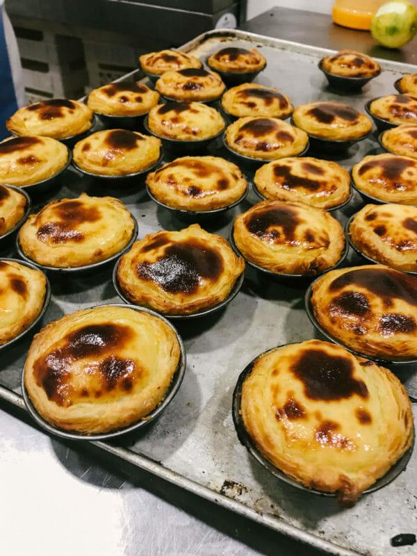 portuguese pastel de nata