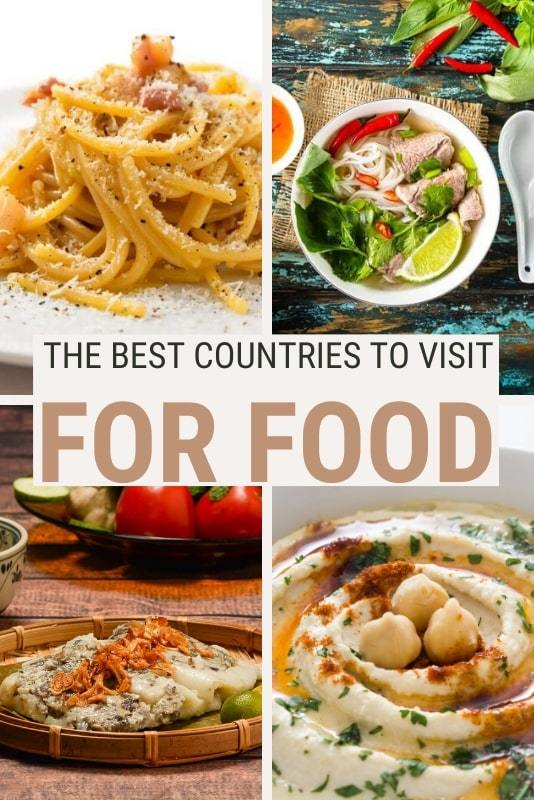 Read about the best countries to visit for food - via @clautavani