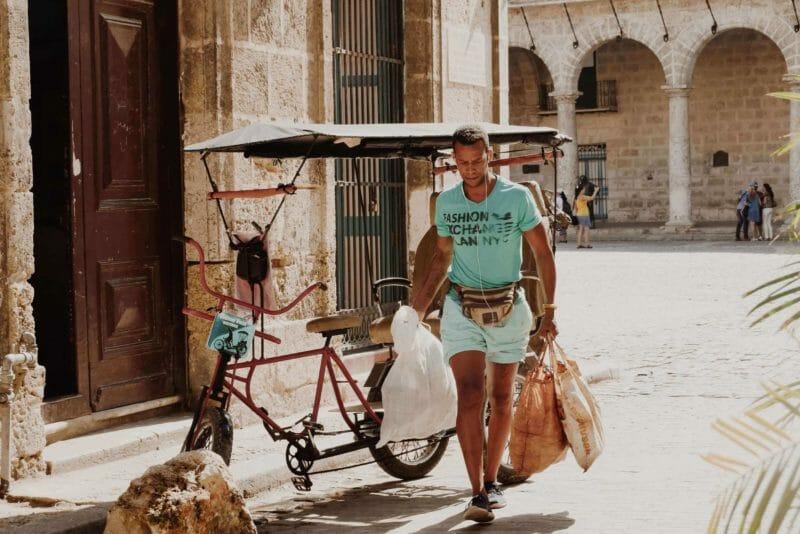 Pedicab in Havana