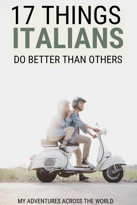 Discover why Italians do it better - via @clautavani
