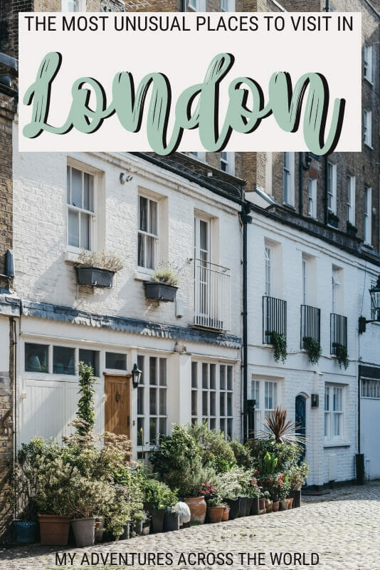 Read about the most unusual places to visit in London - via @clautavani