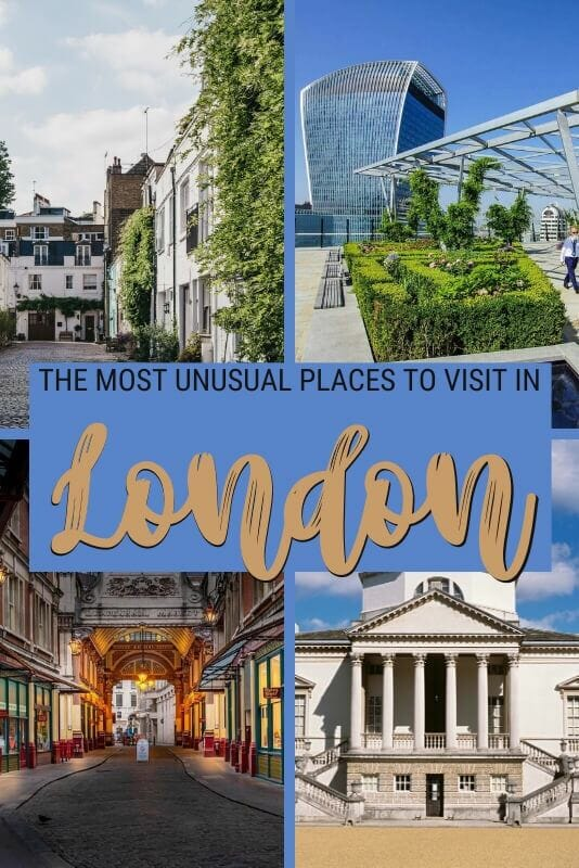 Discover the most unusual places to visit in London - via @clautavani