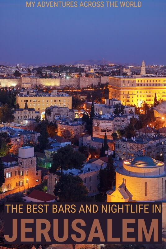 Discover where to go for the best nightlife in Jerusalem - via @clautavani