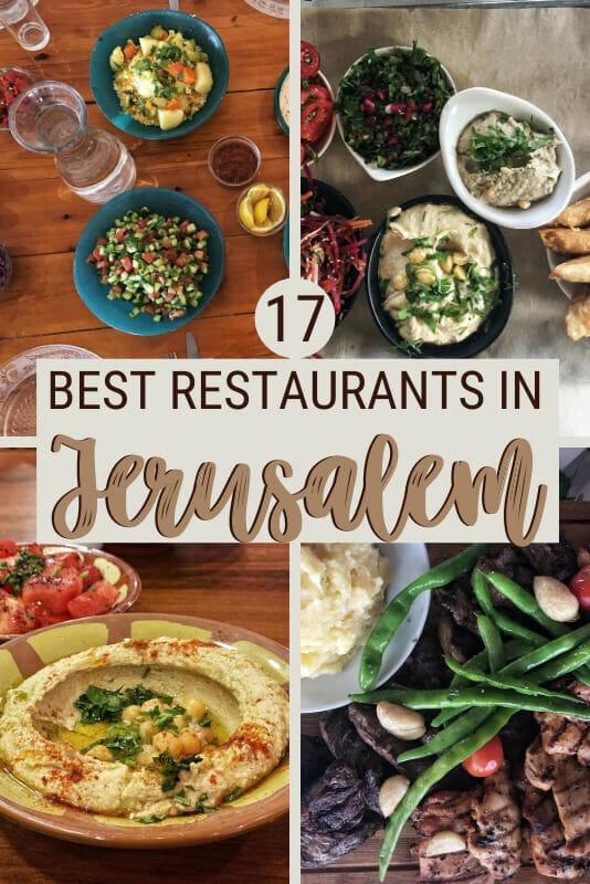 Read about the best restaurants in Jerusalem - via @clautavani