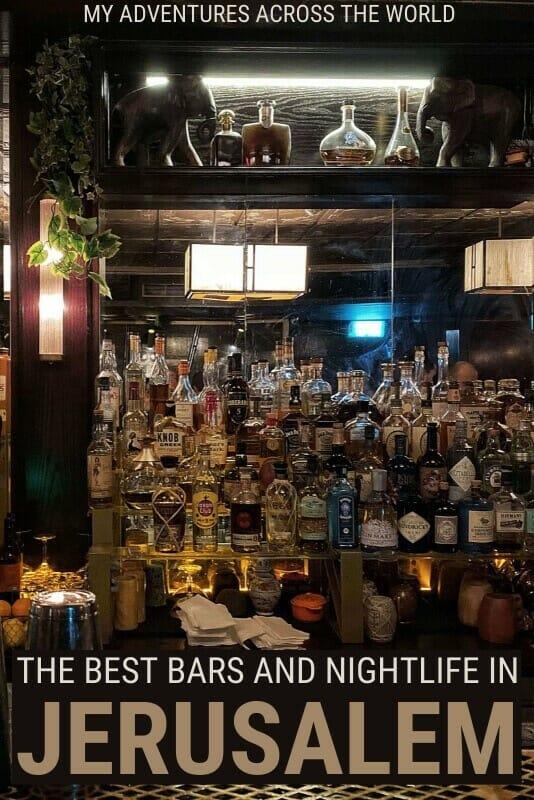 Read about the best bars in Jerusalem - via @clautavani