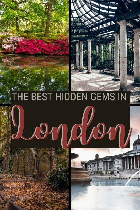 Discover where to find London hidden gems - via @clautavani