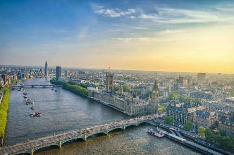 London Eye views