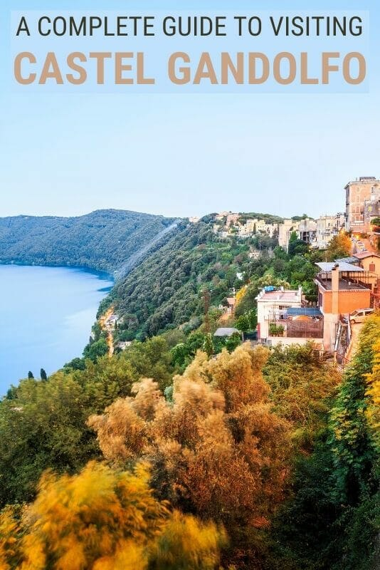 Discover how to visit Castel Gandolfo on a day trip from Rome - via @clautavani