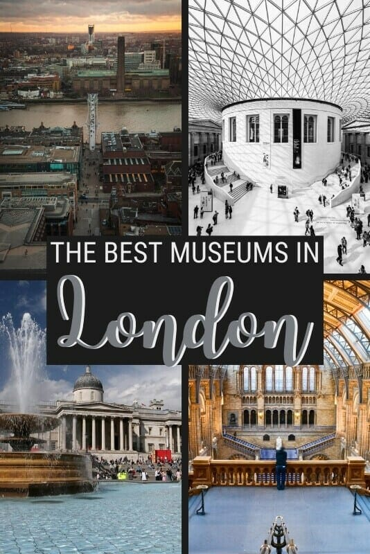 Discover the best museums in London - via @clautavani