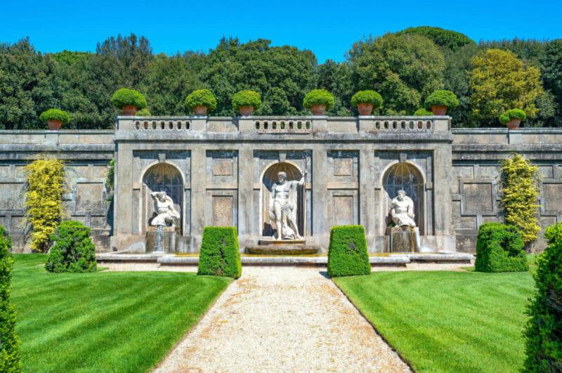 Castel Gandolfo Papal Palace gardens