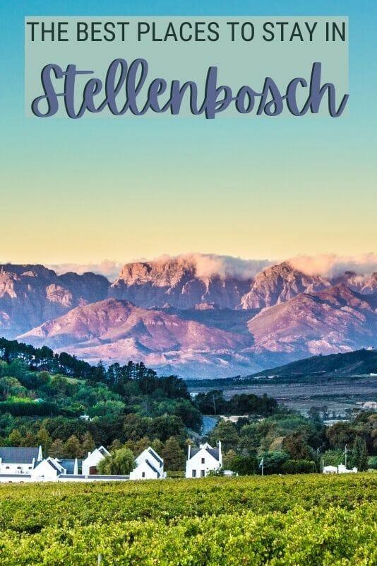 Read about the best accommodation in Stellenbosch - via @clautavani