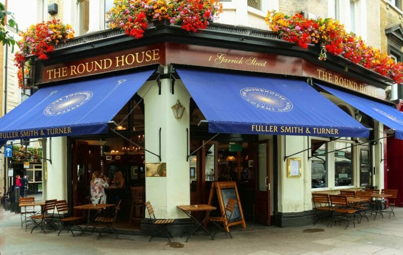 pubs in Covent Garden