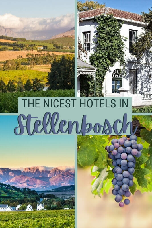 Check out the best places to stay in Stellenbosch - via @clautavani