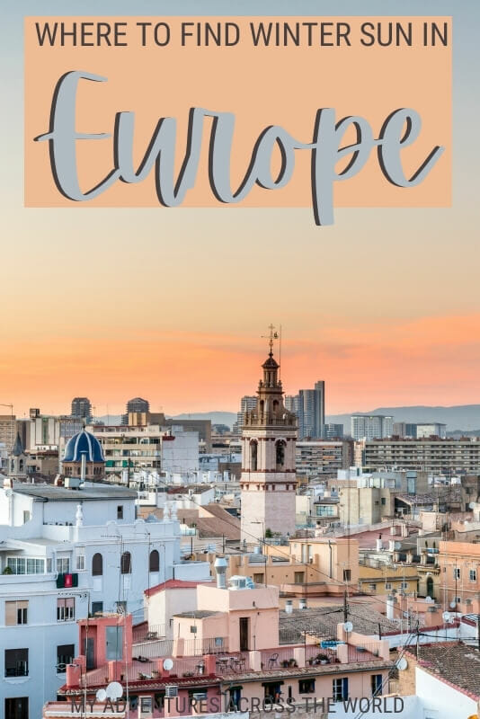Discover the best places for winter sun in Europe - via @clautavani