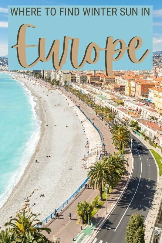 Check out where to go for winter sun in Europe - via @clautavani