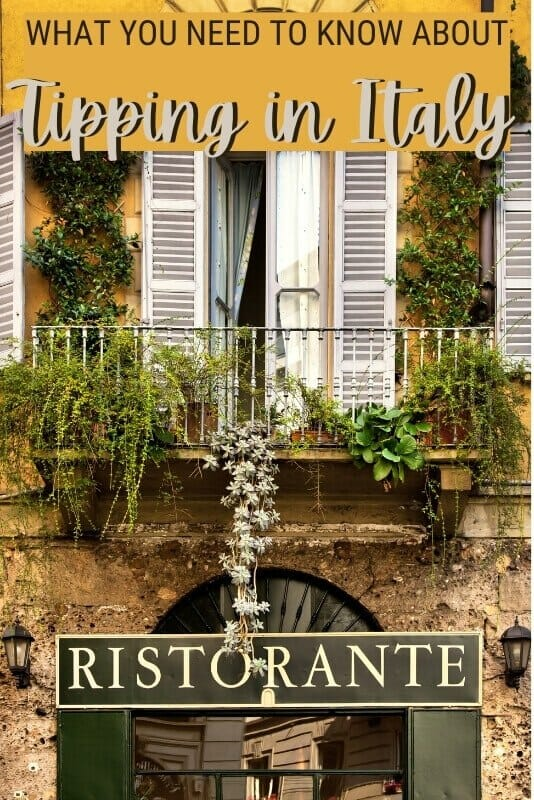 Read this Italy tipping guide and discover how much and when to tip in Italy - via @clautavani