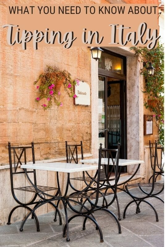 Find out what you need to know about tipping in Italy - via @clautavani