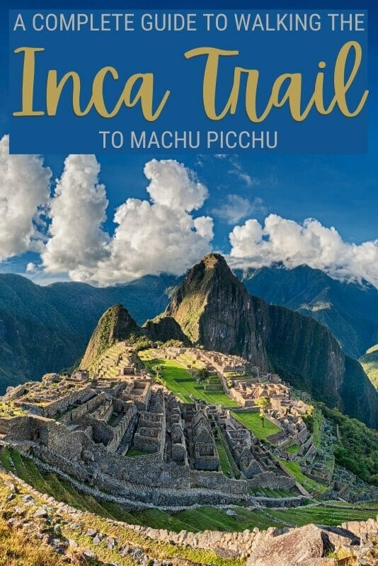 Find out what you need to know about the Inca Trail hike - via @clautavani